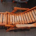 木製チェアーリメイク