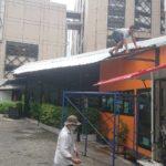 屋根の取付工事3日目